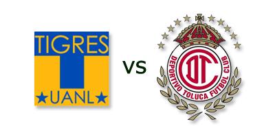 Tigres UANL vs Toluca en VIVO