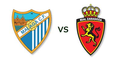 Malaga vs Real Zaragoza en VIVO