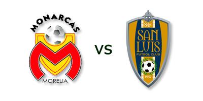 Morelia vs San Luis en VIVO