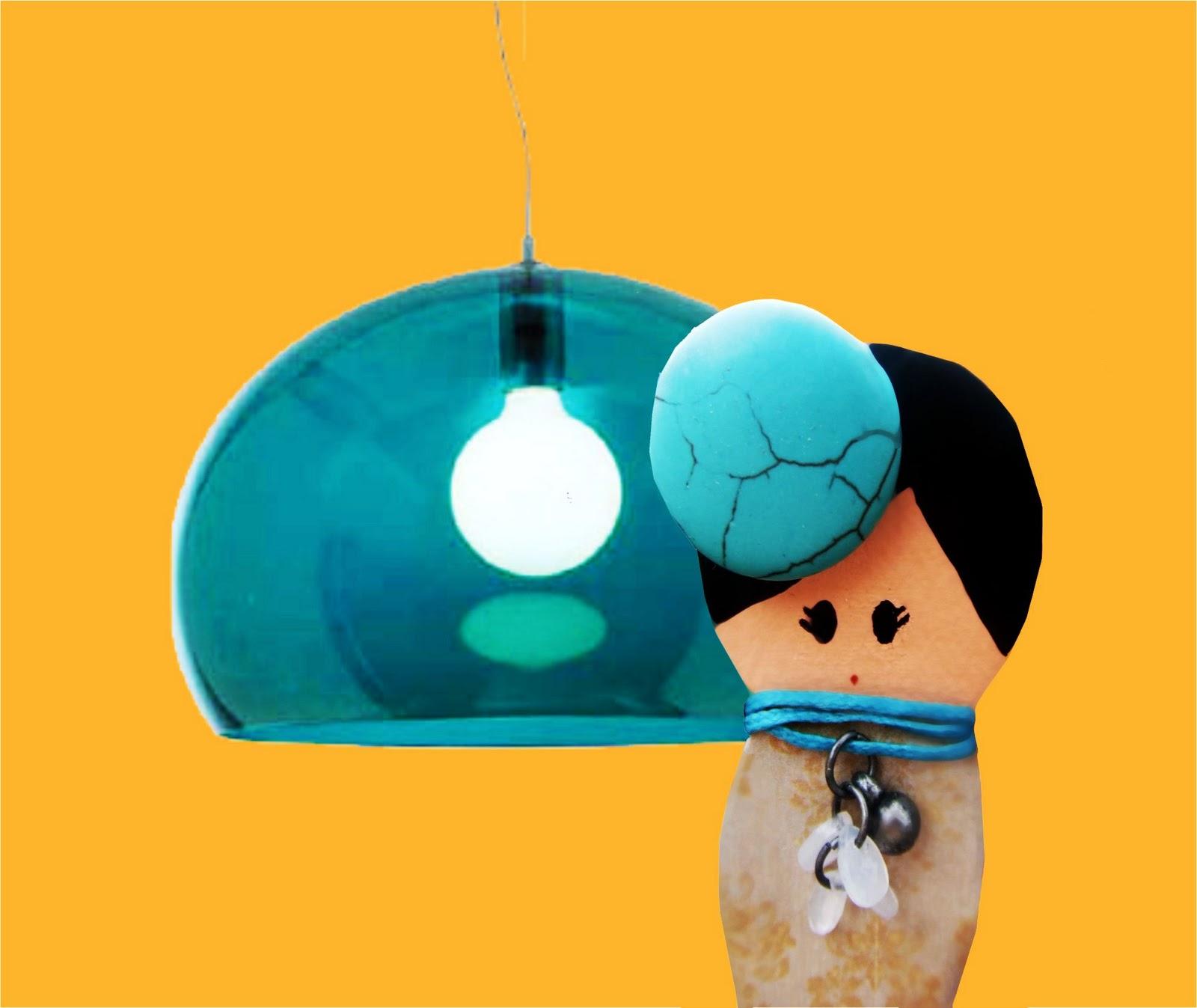 Mariquita tu roete se enciende la luz - Lampara fly kartell ...