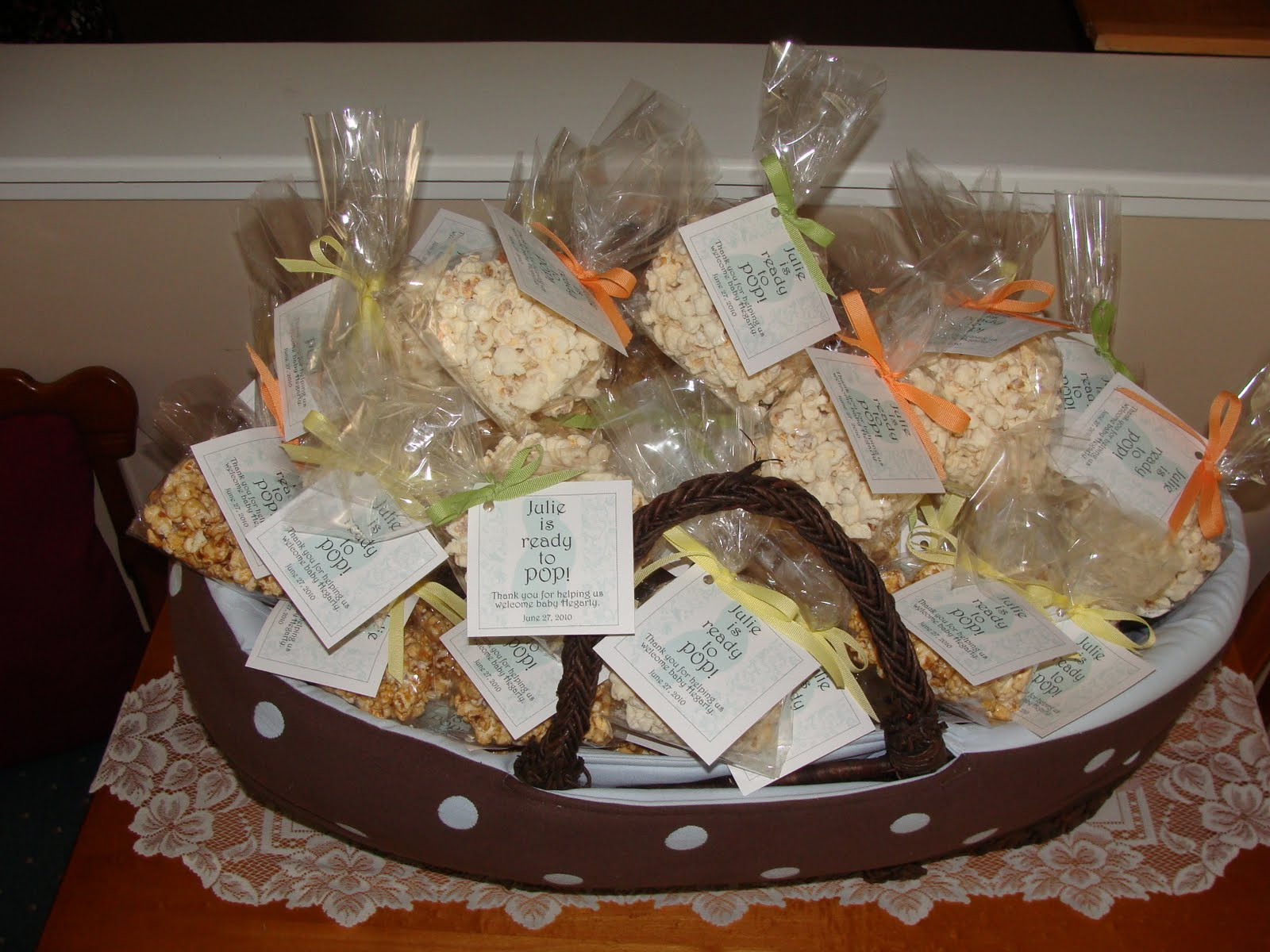 julie's baby shower favors  k.gourmae, Baby shower