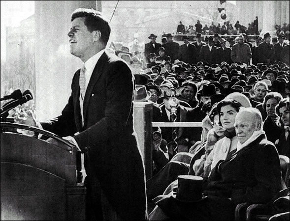 john f kennedy inaugural speech Inaugural address (ask not what your country can do for you) the speech allotted jfk the space to rally the american people behind the president john f kennedy.