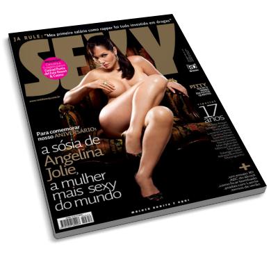 Lucila Siclaco - Revista Sexy - Novembro 2009