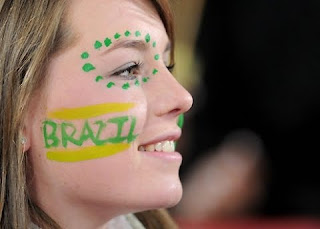 Brazilian Face Body Painting