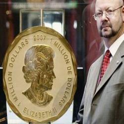 Koin Emas Raksasa Pecahkan Rekor Dunia