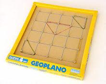 Geoplano virtual - Jogo para aprender...