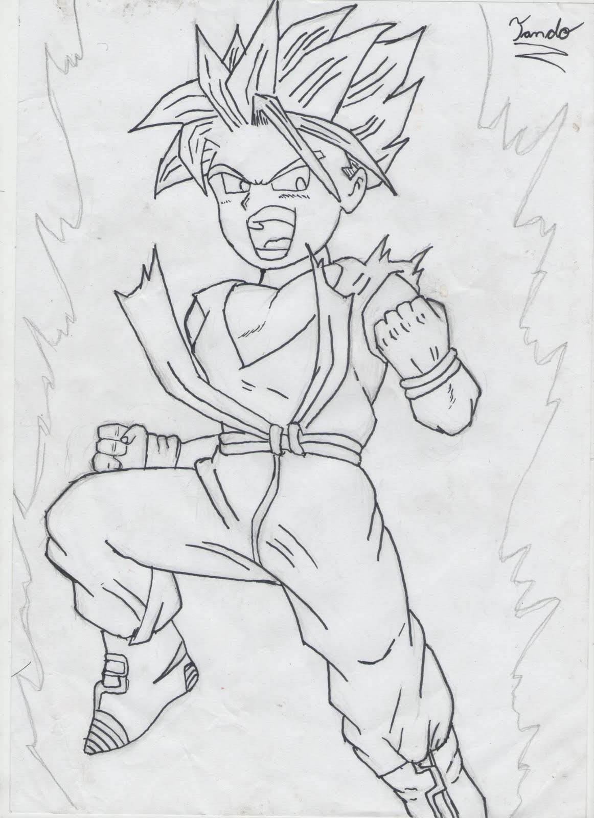 Desenho Mang    Dragon Ball