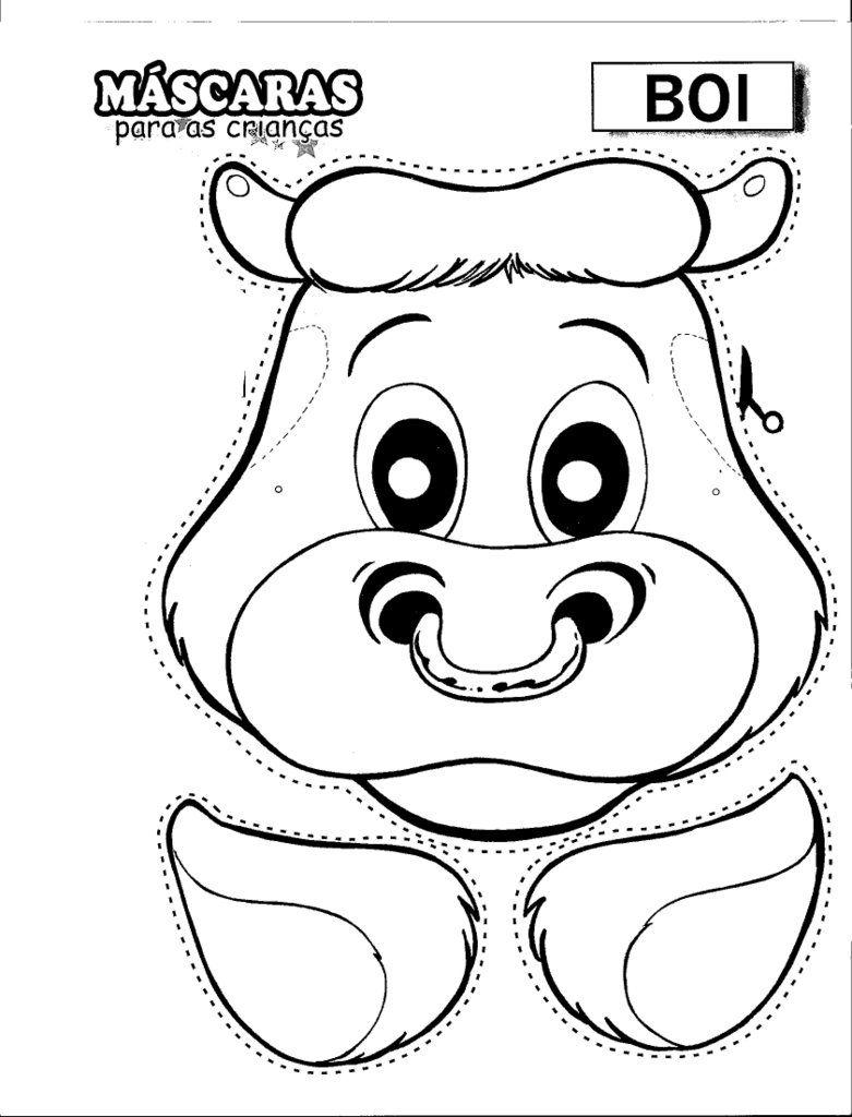 Como hacer una mascara de toro en foami