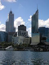View of Perth City from the Swan River!!! ^_^