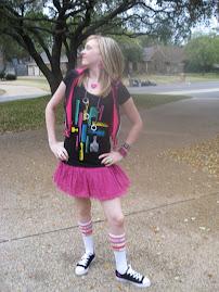 Hot Pink Skirt!