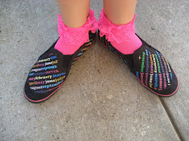 Back to School Trends - printed sneakers  $9.00rs