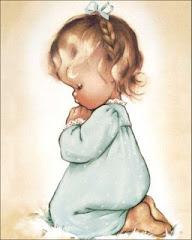 Não devo esperar somente que o papai ou a mamãe orem: Eu mesma devo orar!