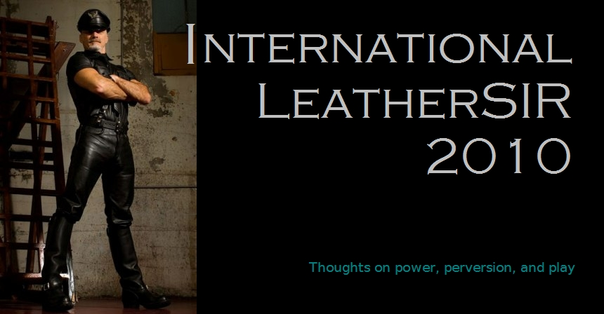 SIR Hugh B Mitchell, International LeatherSIR 2010