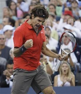 Lucky 13 for Federer