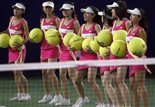 Ballgirls in Toyko