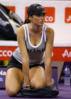 Madrid Model Ball Girl