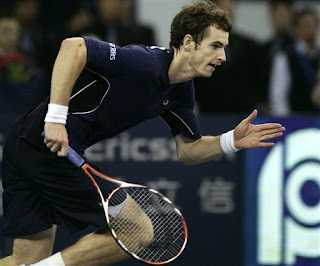 Andy Murray on the move