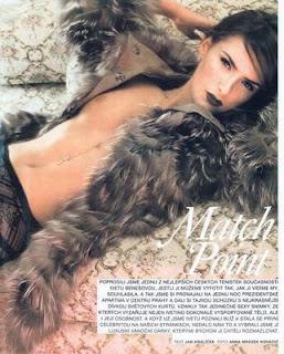 Iveta Benesova in Dolce Vita magazine