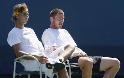 Rafael Nadal and Marat Safin