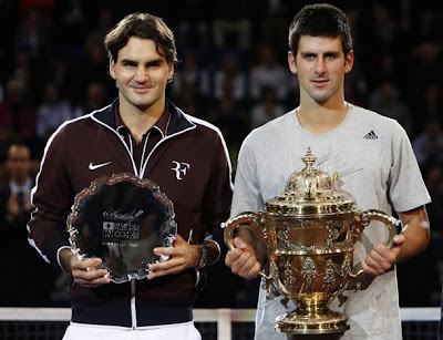 Djokovic and Federer