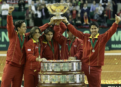 Spain wins Davis Cup
