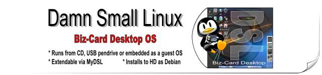 DSL Linux - Damn Small Linux