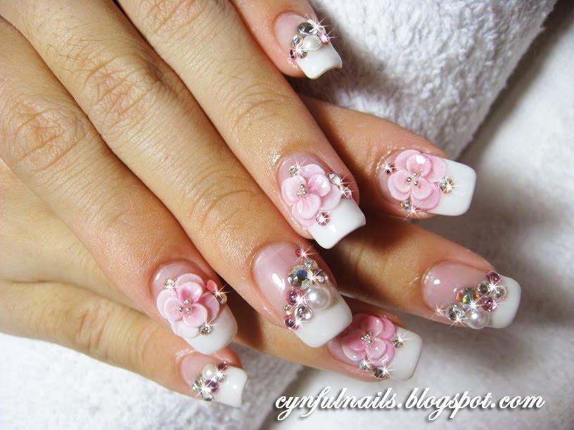 Cynful Nails: Bridal nails..