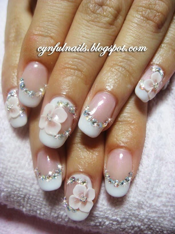 Cynful Nails Bridal Gel Nails