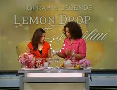 Oprah Legends Lemon Drop