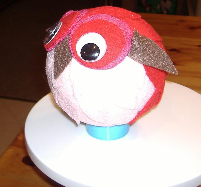 felt owl 2 side