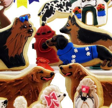 Fancy Flours dog cookies