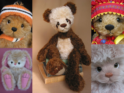 Bumpkin Bears and Friends collage