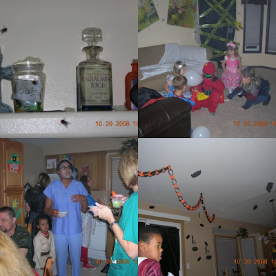 Mad Scientist Party decor