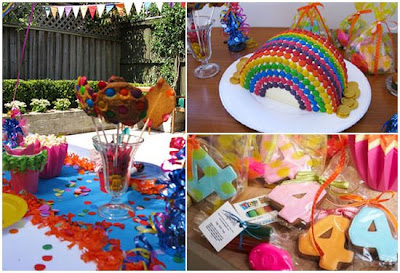 Garden birthday party