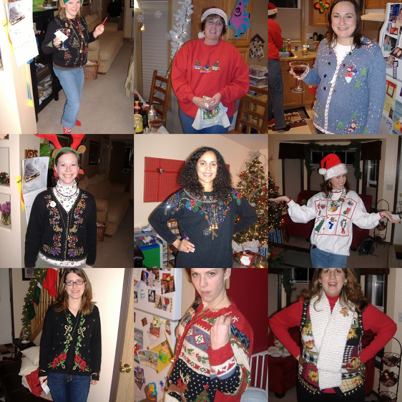 Ugly Sweater Party ensembles