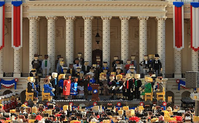 Inauguration in Legos2