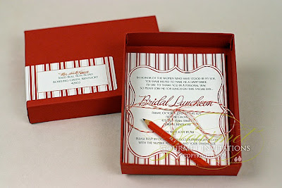 pencil box invite