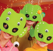 alien invasion masks