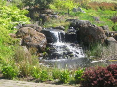 Oregon Garden Resort waterfall 2