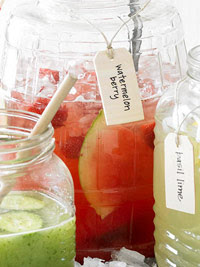 Watermelon-Berry Lemonade