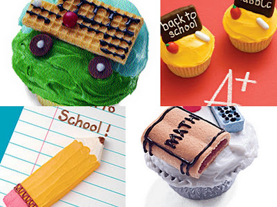 Back To School Cupcakes/Cake