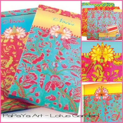 Papaya file folders notepads cards