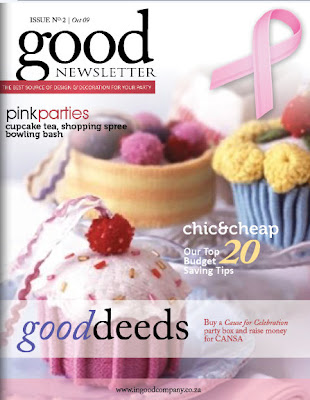 In Good Company pink newsletter