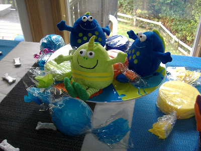 monster mash Bash centerpiece