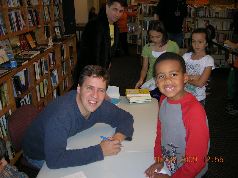 Diary Of A Wimpy Kid book signing 2