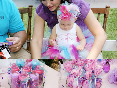Abby Cadabby 1st birthday collage