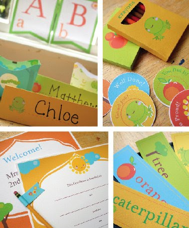 Paper & Cake back to school printable