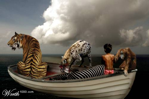 Illustrated Life of Pi Pictures
