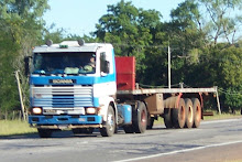 Camiones Paraguayos por Ruta 3