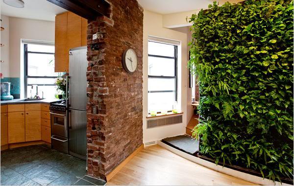 plantas para jardim vertical internopainéis de madeira ripada placas